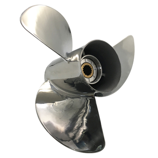 13 3/8 x 14 Stainless Steel Propeller for Mercury Mariner Outboard 48-17314A46