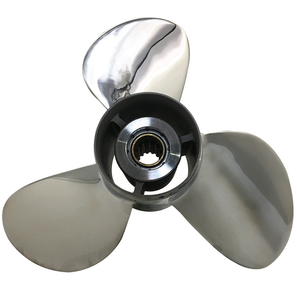 11 3/4 x 17 Stainless Steel Propeller For Suzuki Outboard Engine 990C0-00501-17P
