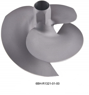 OEM No. 6BH-R1321-01-00 Diameter 155mm Stainless Steel Impeller for Yamha Jet Ski FY1100, FY1800, FB1800