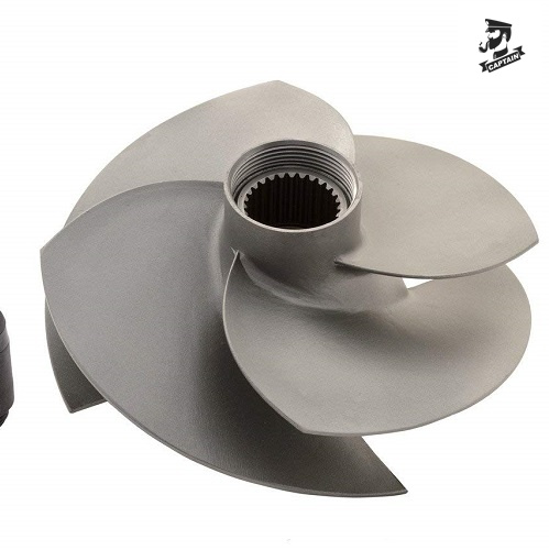 Diameter 159mm 4 Blades Jet Ski Impeller For Sea-Doo RXT 260 RXP 255 RXP 260
